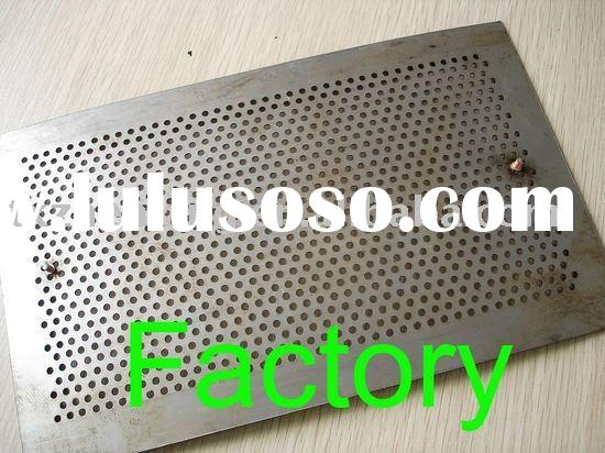 1mm thickness stainless steel 304 Perforated sheet for screen