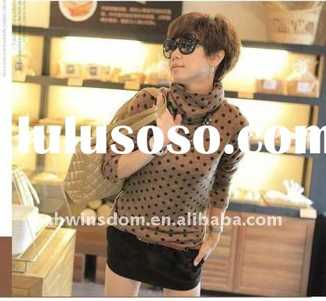 2011-2012 The autumn and winter new style lady's joker bottoimng long t-shirt