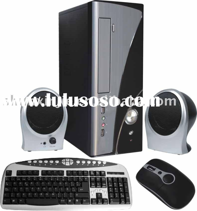 2011 Combo 5 IN 1,Computer case/pc case combo(With power supply),keyboard,speaker.Mouse