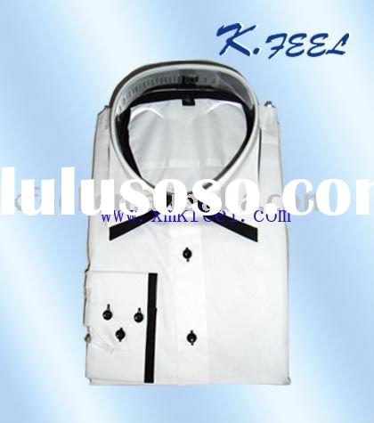 2011 Fashion Design Men's French Cuff Shirt