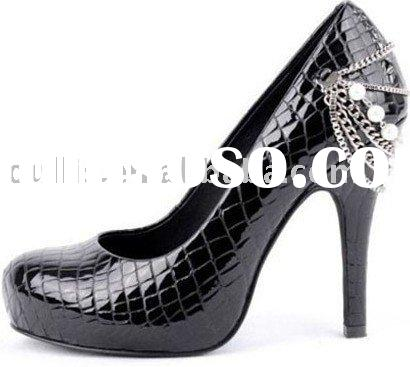 2011 Fashion high heel ladies office shoes