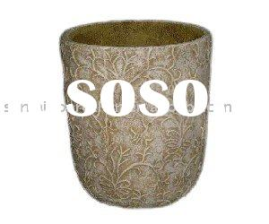 2011 Hot Sale Rustic Concrete Flower Pots & Planters