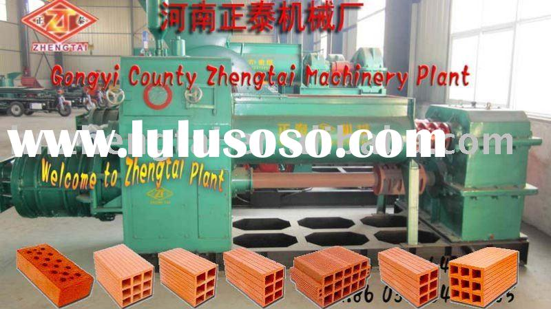 2011 Red clay brick making machine with Latest hoffman kiln ,mud brick equipment,building material m