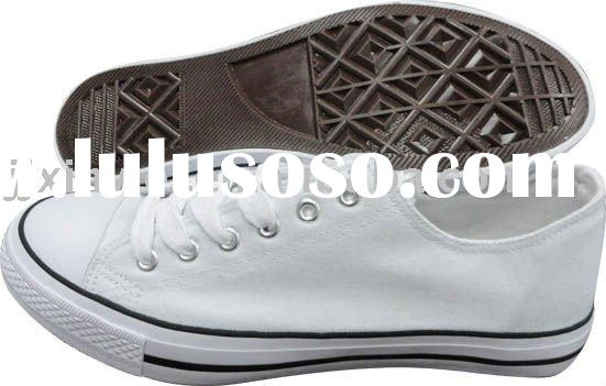 2011 cheap white canvas shoes