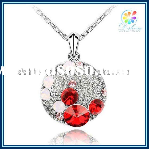 2012 fashion jewelry crystal costume jewelry