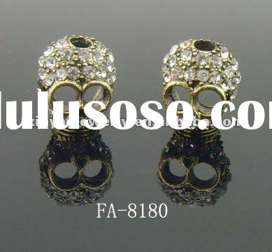 2012 fashion jewelry finding skull beads