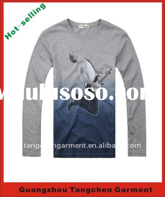 2012 new style cotton man t-shirt with hot selling
