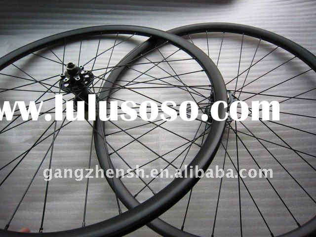 "22mm clincher carbon fiber mtb wheels,26"" wheels,mountain bike wheels"