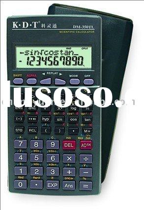240 kinds of function scientific calculator Two lines LCD display DM-350TL