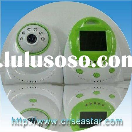 2.4GHz (ISM band) Digital 2.4 inch baby monitor night vision 6 LED