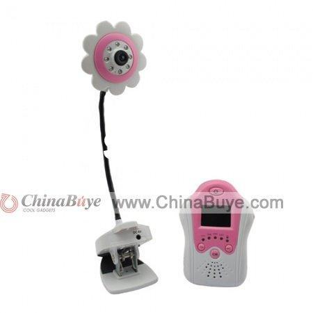 "2.4G 1.5"" TFT LCD Screen 4 Channel Night Vision Wireless Baby Monitor"