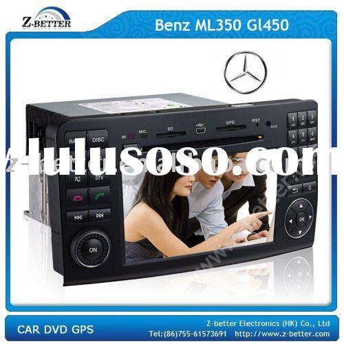 2 Din 7 Inch car dvd mercedes benz for Benz ML 350/GL 450 with DVD,GPS,Bluetooth,Radio