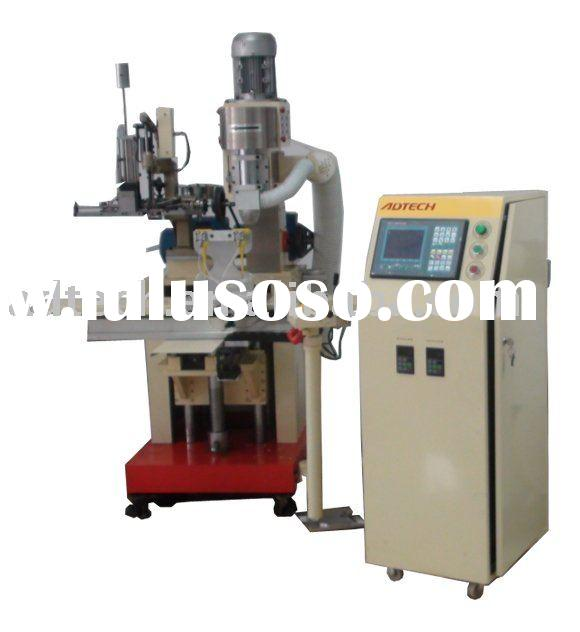 2 axis 2 heads cnc brush tufting and drilling machine