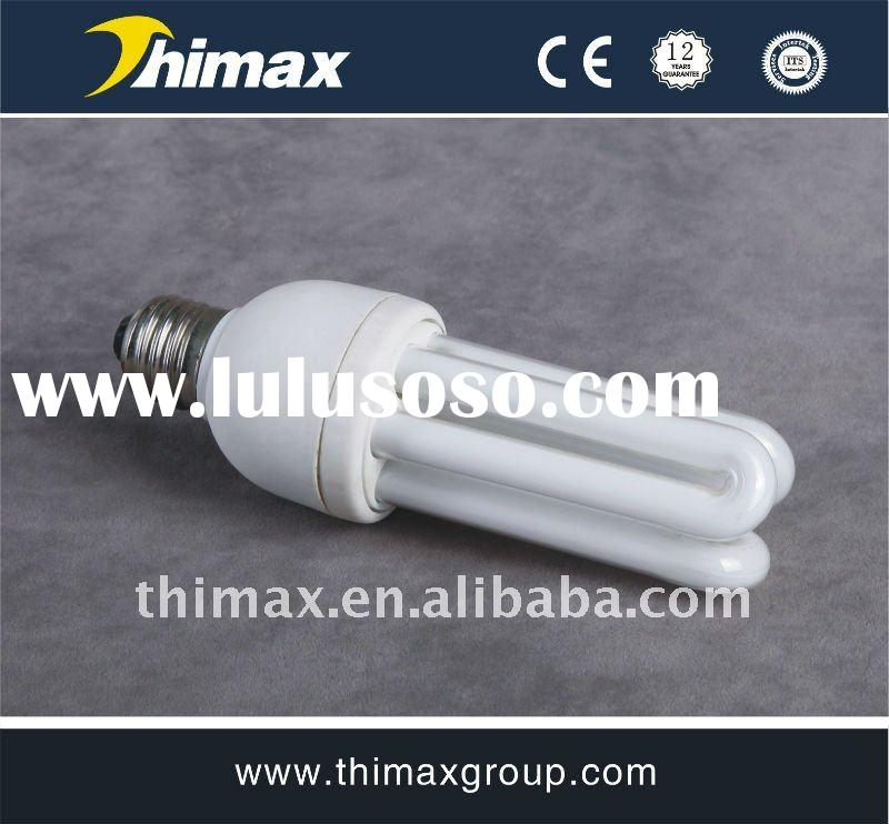 3U 15W E27 Energy-saving Lamps Compact Fluorescent Lamp