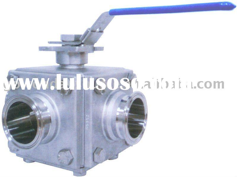 3, 4, 5 WAY SANITARY BALL VALVE (GS-7111W)