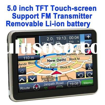 5.0 inch TFT Touch-screen Car GPS Navigator