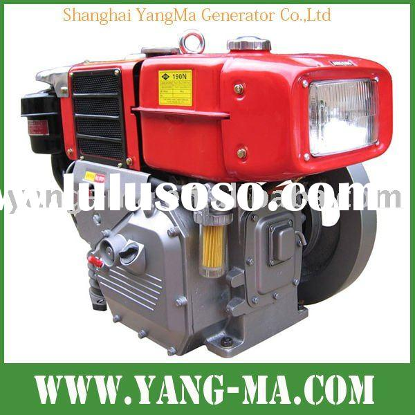 6hp-30hp water cooled single cylinder 4 stroke diesel engine