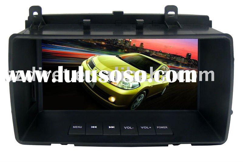 7'' in dash 1 din car dvd gps for nissan tiida