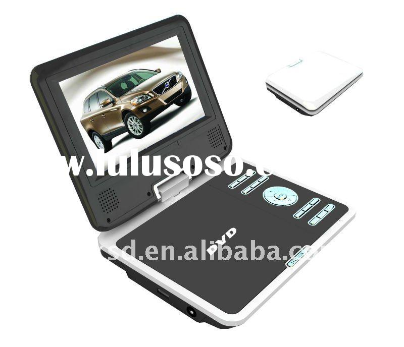 7 inch LCD portable dvd player with tv tuner
