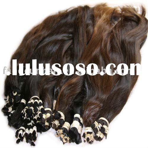 AAA grade peruvian human hair extension/weave