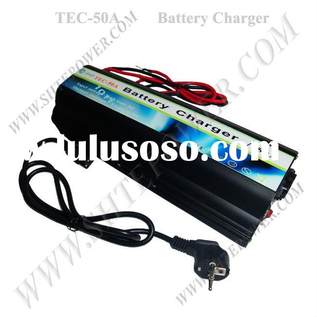 AC 220v to DC 12v Battery Charger 50A