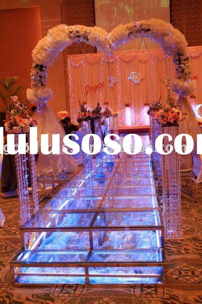 Acrylic stage good quality wedding door gift