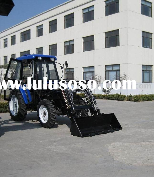 Agricultural Tractor With Implement
