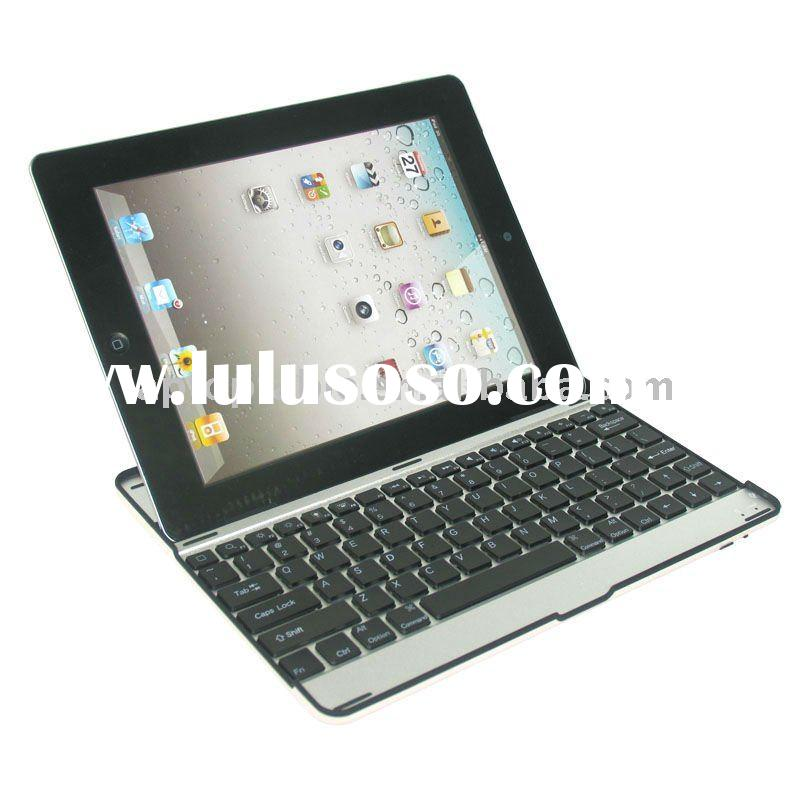Aluminum case for ipad 2 with Bluetooth keyboard