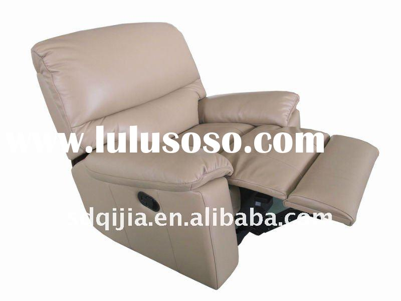 American living room furniture leather sofa recliner