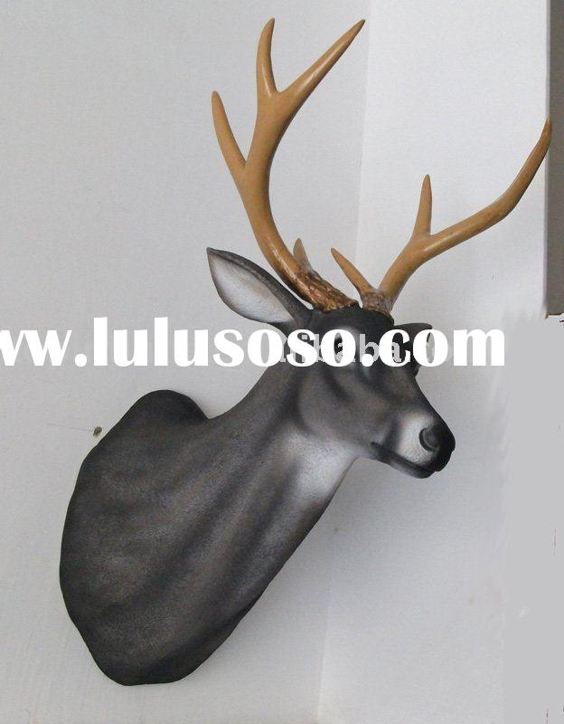 Artifical Deer Head, Plastic Deer Head, Animal Decoration