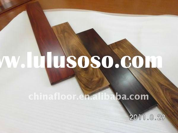 Asian walnut/Acacia solid wood flooring