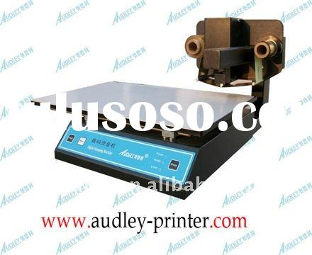 Audley business card printing machine(ADL-3050A)