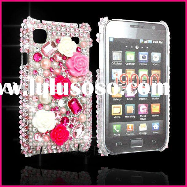 BLING DIAMOND GEM CASE COVER for Samsung I9000 Galaxy S