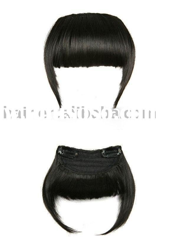 Bangs Hair Extension/Synthetic Hair Pieces/Clip Hair Piece/Hair Bangs/Fringe hair/Bangs