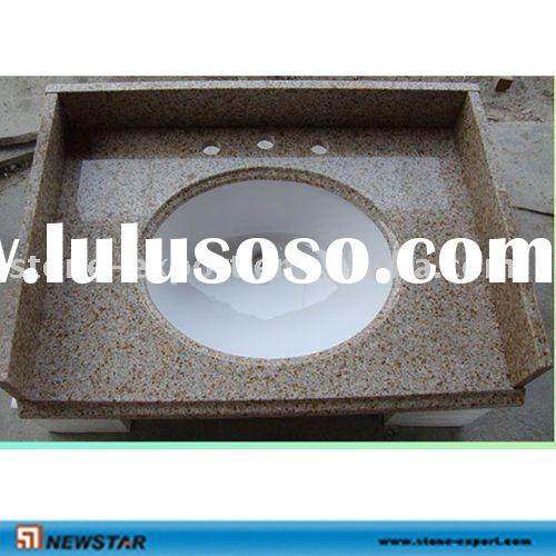 Bathroom Golden Yellow Granite Vanity Top