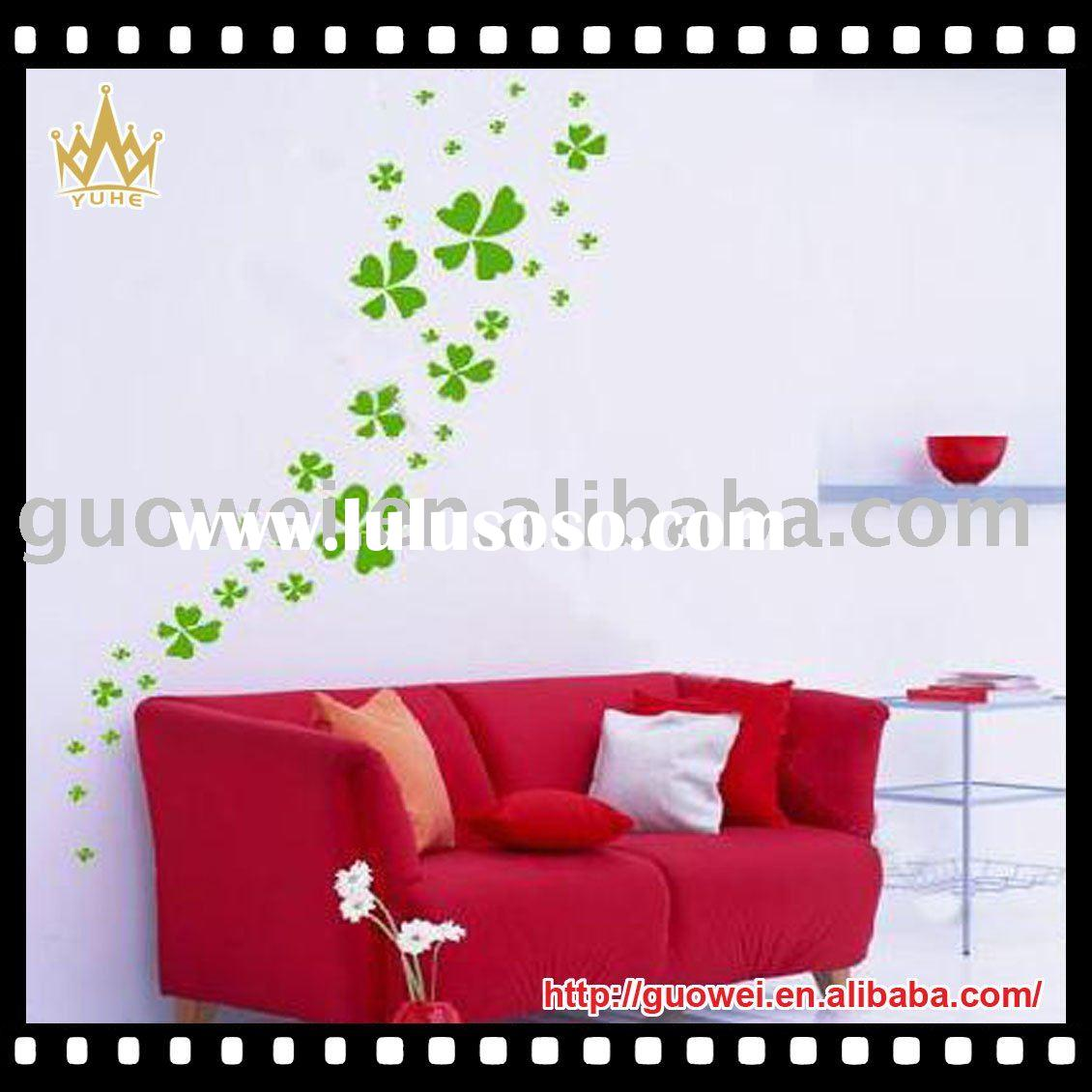 Bedroom glow in the dark wall sticker