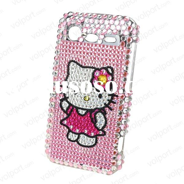 Bling hard Case For HTC Incredible S