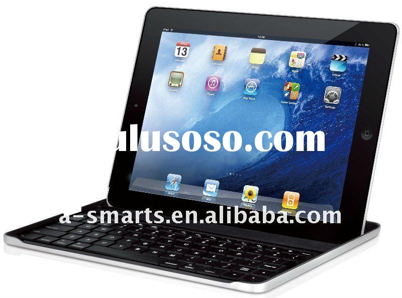 Brand NEW 360 angle Rotating rubberized bluetooth keyboard case for ipad 2