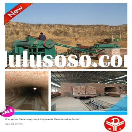 Brick Making Machine with Tunnel Kiln for Drying and Burning