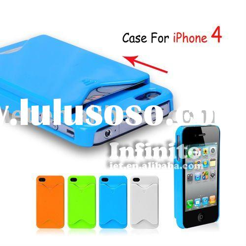 CARD HOLDER CASE FOR IPHONE 4