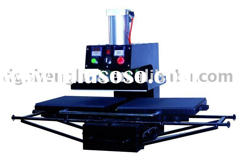 CE Air operate double stations heat press machine
