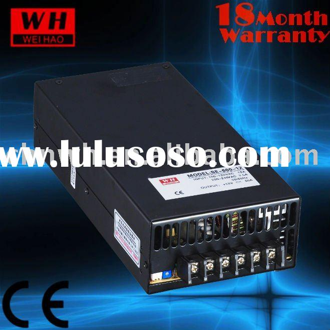 CE ROHS approved 600w 48v variable power supply ac dc industrial mode power supplier