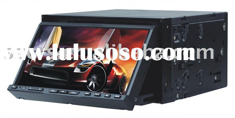 "CRS-701 7"" In-dash car DVD with USB/SD/FM/AM/IR/BT touch panel DVD 2-Din DVD double Din DVD Car"
