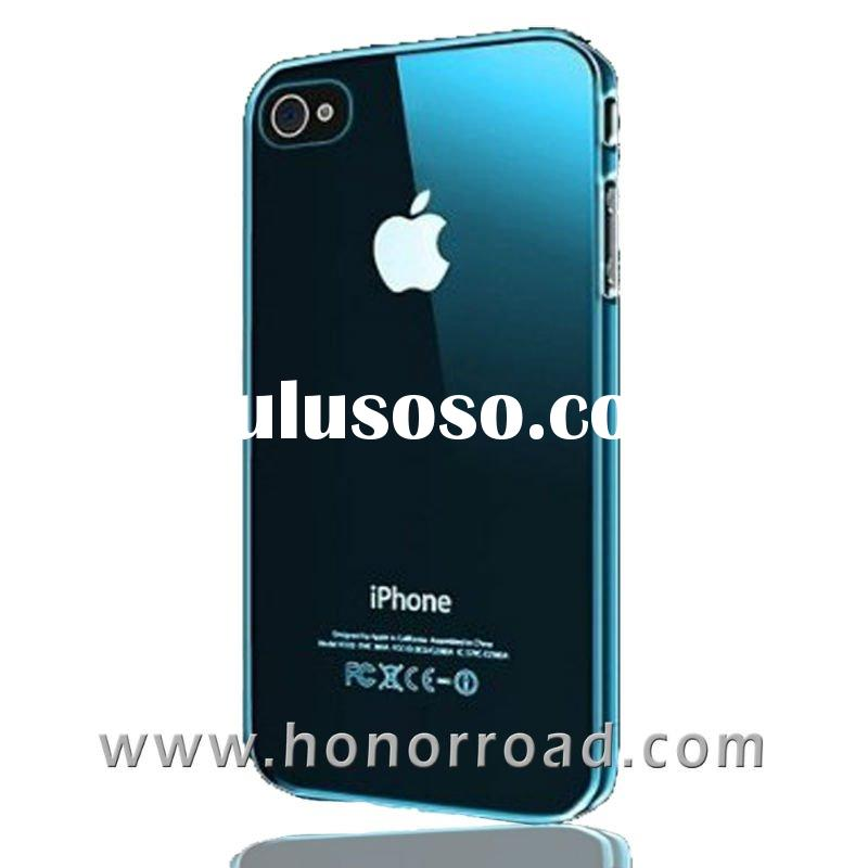 Calamine Blue Ultra Thin Crystal Case Cover for the iPhone 4