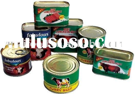 Canned Food, Canned Beef