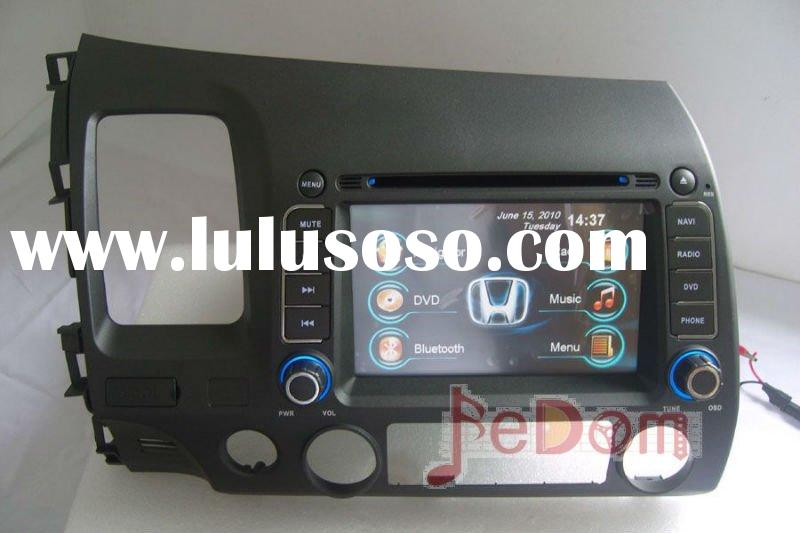 Car DVD GPS In-dash stereo for Honda Civic 2006~2011+Map+DVD+FM+AM+Radio+Audio+iPod+iPhone+Bluetooth