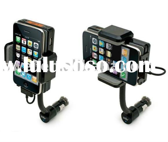 Car Holder Mount Charger FM All-in-One Car Connection for iPhone 3G iPod iTouch