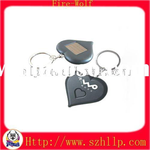 China Solar Power Gift with Flashlight ,Plastic Keychain Supplier,LCD Key Tag Manufacturer