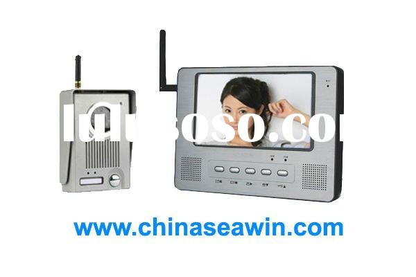 China manufacturer offer wireless video intercom Wifi video door phone distance 150 meter