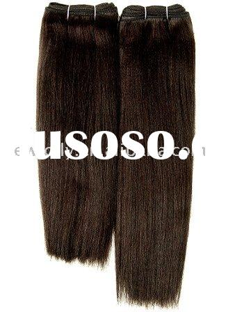 Chinese remy natural wave hair extensions, sample order is accpeted